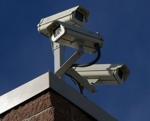 3 surveillance cameras