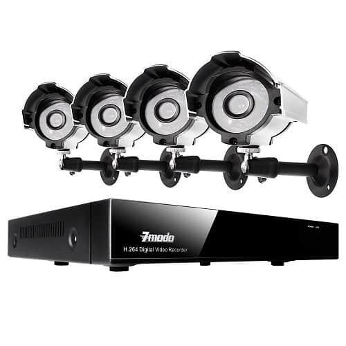 Zmodo 4ch H 264 Surveillance System Review Securitybros