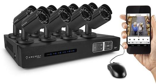 Amcrest AMDV10808-8B Surveillance System