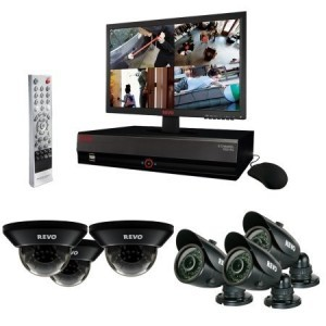 Revo R84D3GB3GM18-1T 8 Channel 1TB DVR Surveillance System