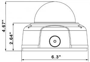 Dahua IPC-HDBW3300 Measure