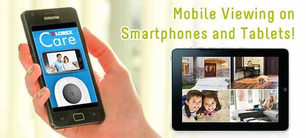Lorex LW3451X mobile
