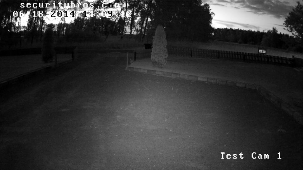 nighttime footage