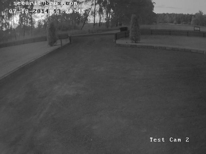 Test Cam 2 nighttime footage