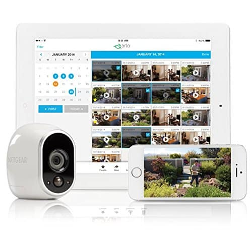 Arlo Smart Home Security Camera System VMS3230
