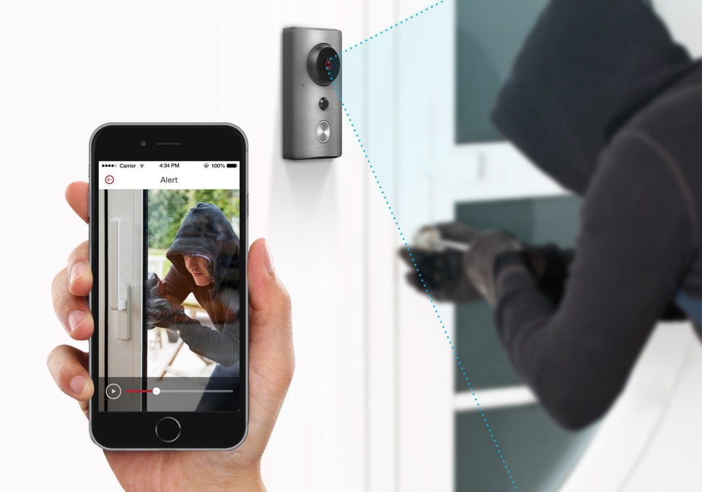 Zmodo ZH-CJAED Smart WiFi Video Doorbell
