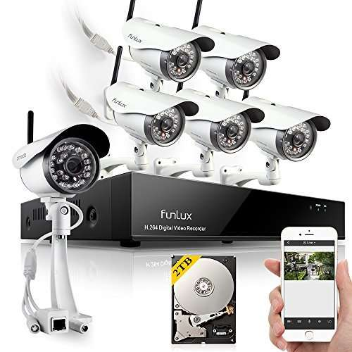 Funlux Wireless IP Security Camera System