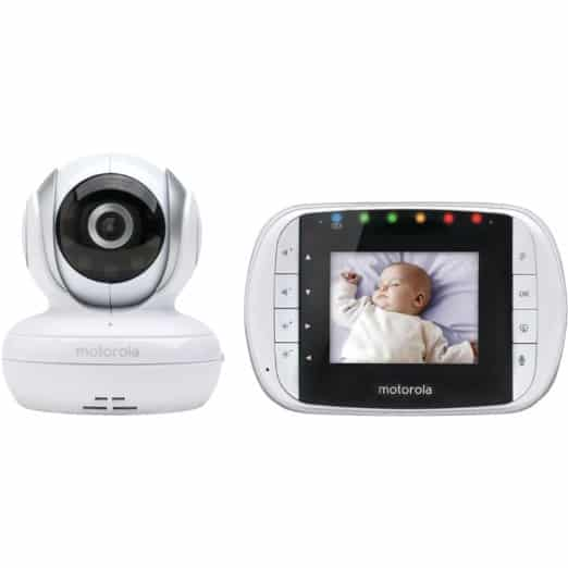 top 16 best video baby monitors 2016 securitybros. Black Bedroom Furniture Sets. Home Design Ideas