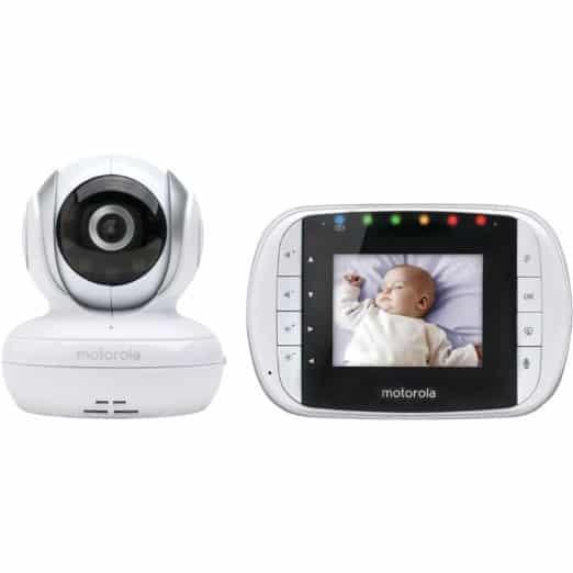 Motorola MBP33 Wireless Video Baby Monitor