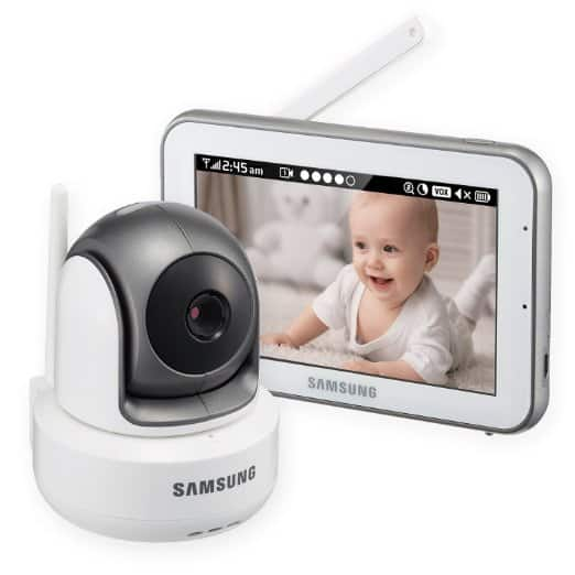 Samsung SEW-3043W BrightVIEW HD Baby Monitor