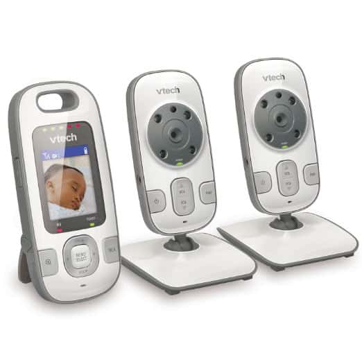 Vtech VM312-2 Safe & Sound Video Baby Monitor