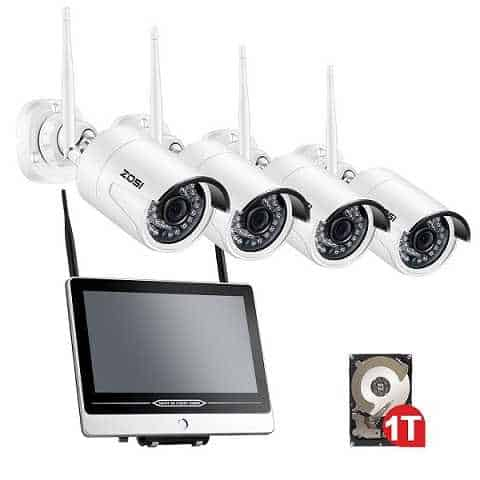 This Security Camera System Allows You To Plug Your Cameras To A Monitor  And Replace The Traditional NVR. It Renders Superior Image Quality With Its  ...