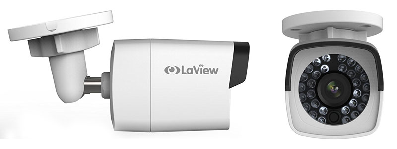 Laview 4 Megapixel Cameras With 8 Channel Poe 4k Nvr Surveillance System Review Securitybros