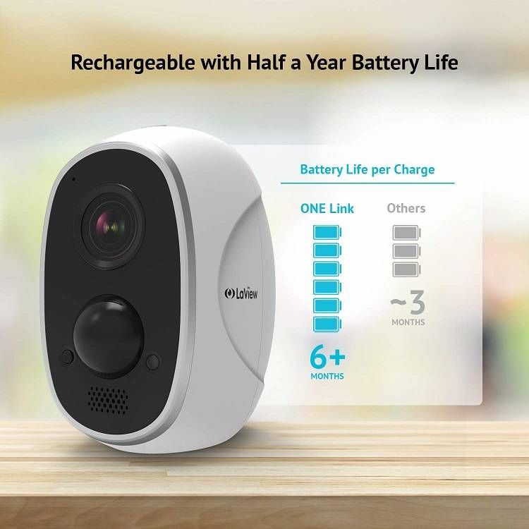 laview one link wireless security camera review securitybros. Black Bedroom Furniture Sets. Home Design Ideas